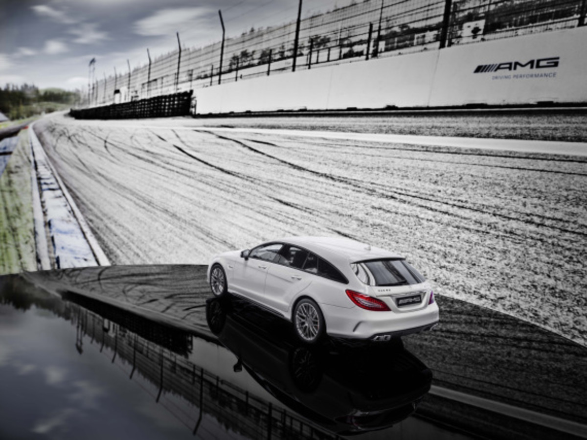 "Mercedes AMG - Limited Edition ""White Series"" Scale Model Cars - 9"