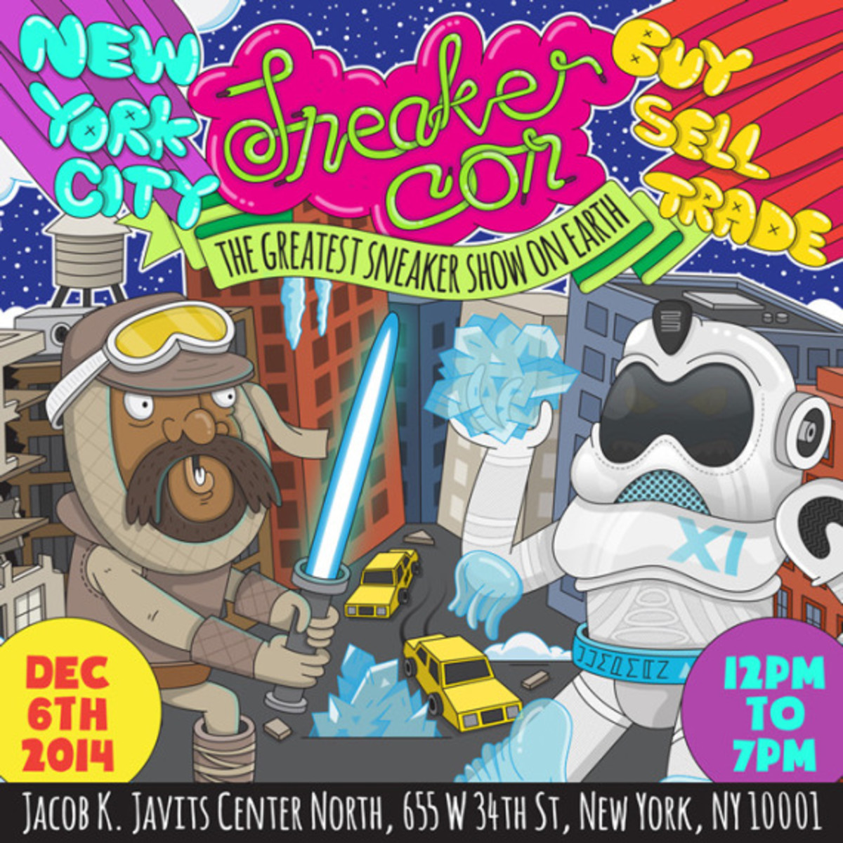 Sneaker Con New York City – December 6th, 2014 | Event Reminder - 0