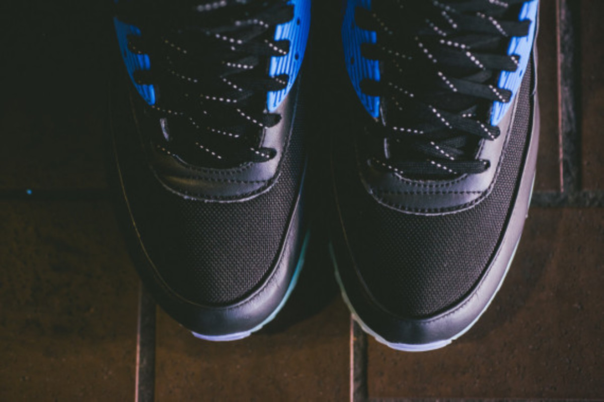 Nike Air Max 90 ICE Sneakerboot - Black/Photo Blue | Available Now - 6