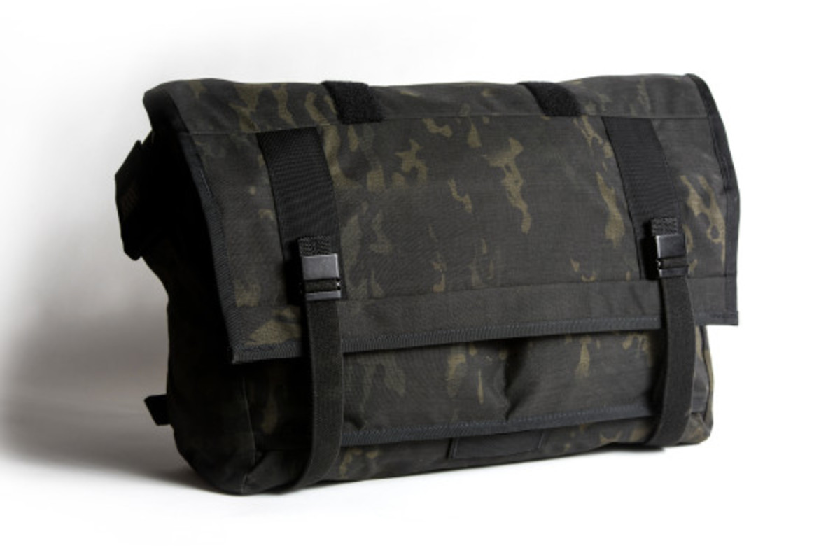 MISSION WORKSHOP - Black Camo Series Limited Edition Messenger Bag - 2