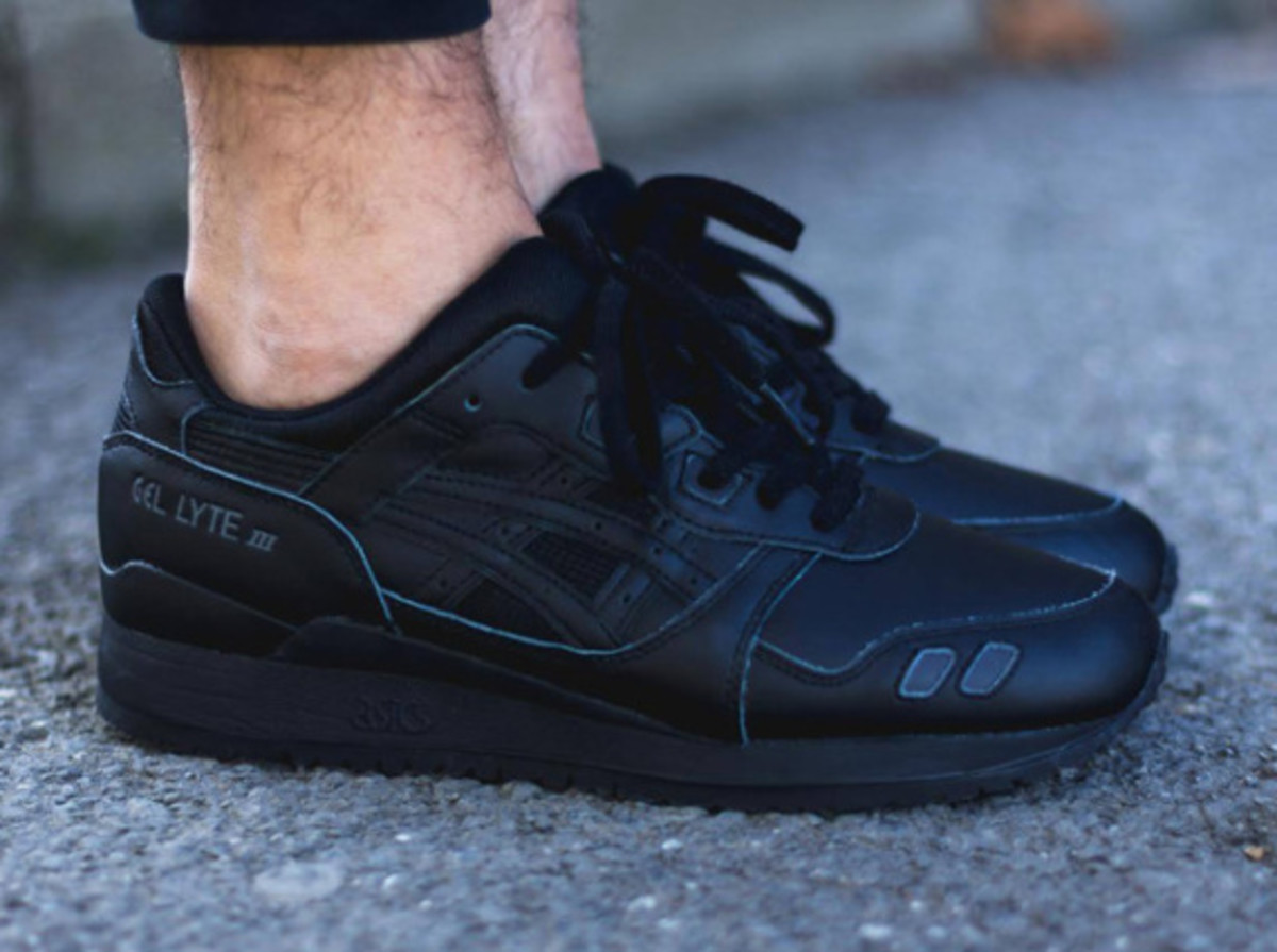 "ASICS Gel Lyte III - ""Triple Black"" - 1"