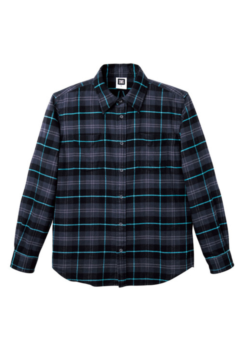 check-flannel-black