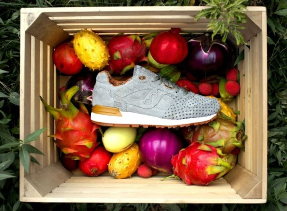 """Play Cloths x Saucony Shadow 5000 """"Strange Fruit"""" Pack - 4"""