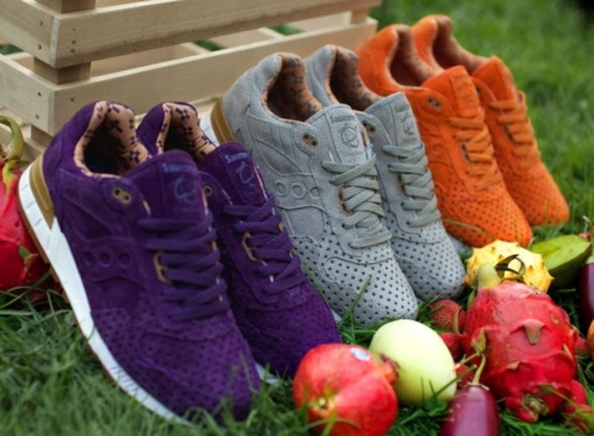 """Play Cloths x Saucony Shadow 5000 """"Strange Fruit"""" Pack - 6"""