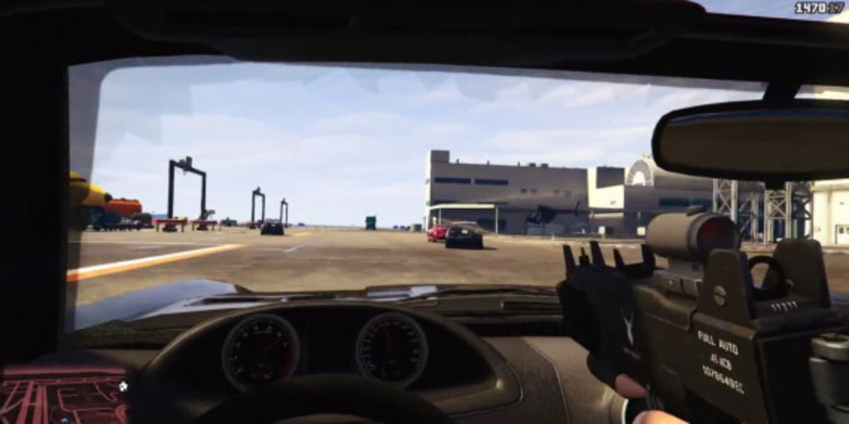 Grand Theft Auto 5 - First Person Mode Introduced - 1