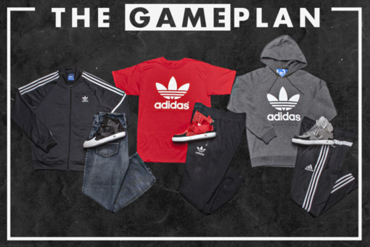 The Game Plan by Champs Sports - adidas Originals C-10 Collection - 0