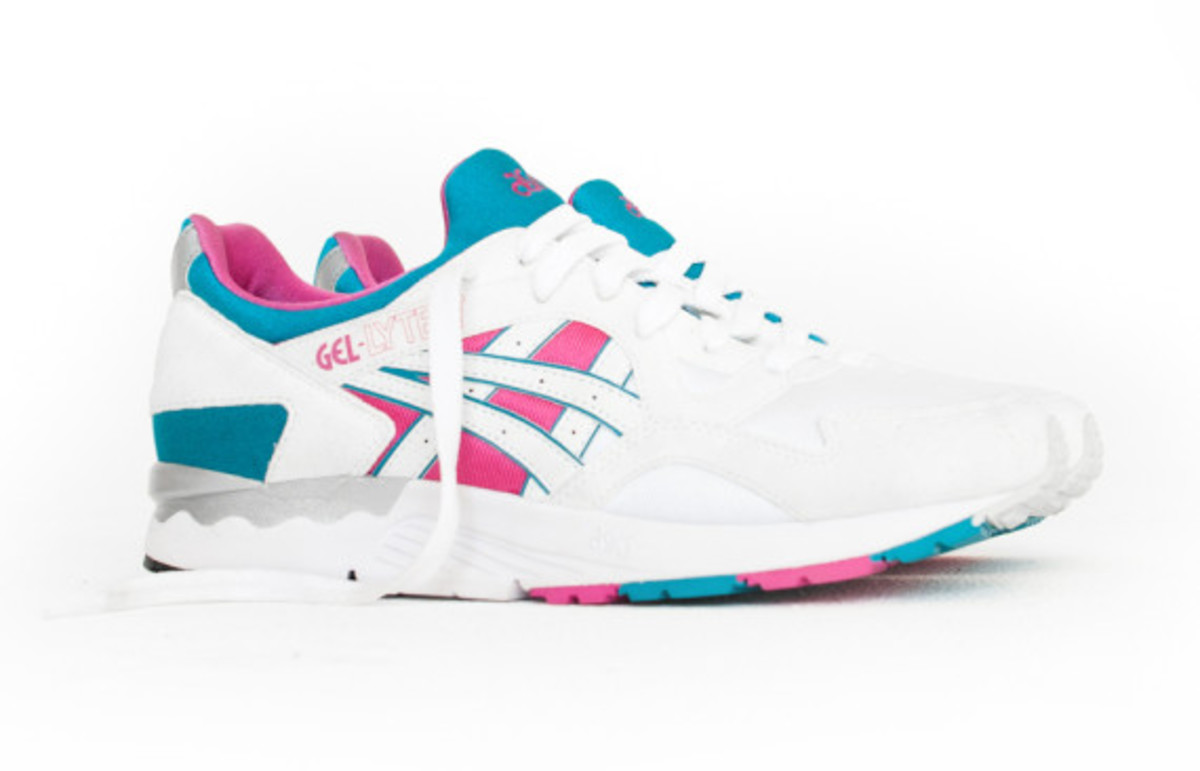 Asics Gel Lyte V White Orange – Kith