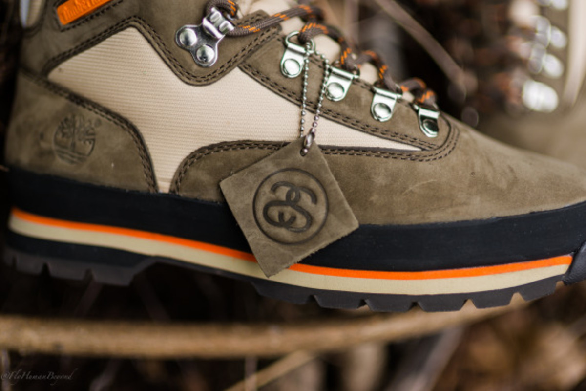 Stussy for Timberland – Euro Hiker Boots | Available Now - 3