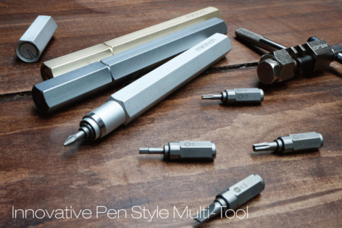 Tool Pen - Pen-Like Multi-Tool by mininch - 0