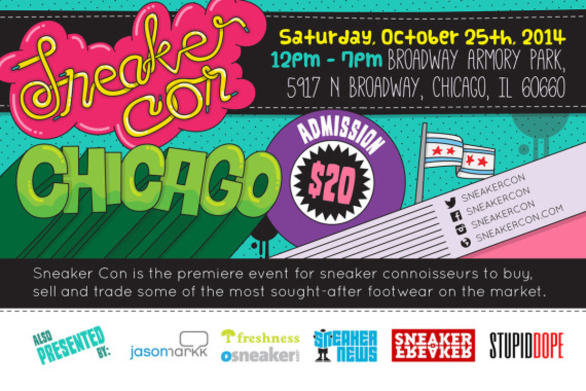 Sneaker Con Chicago – October 25th, 2014 | Event Reminder - 2