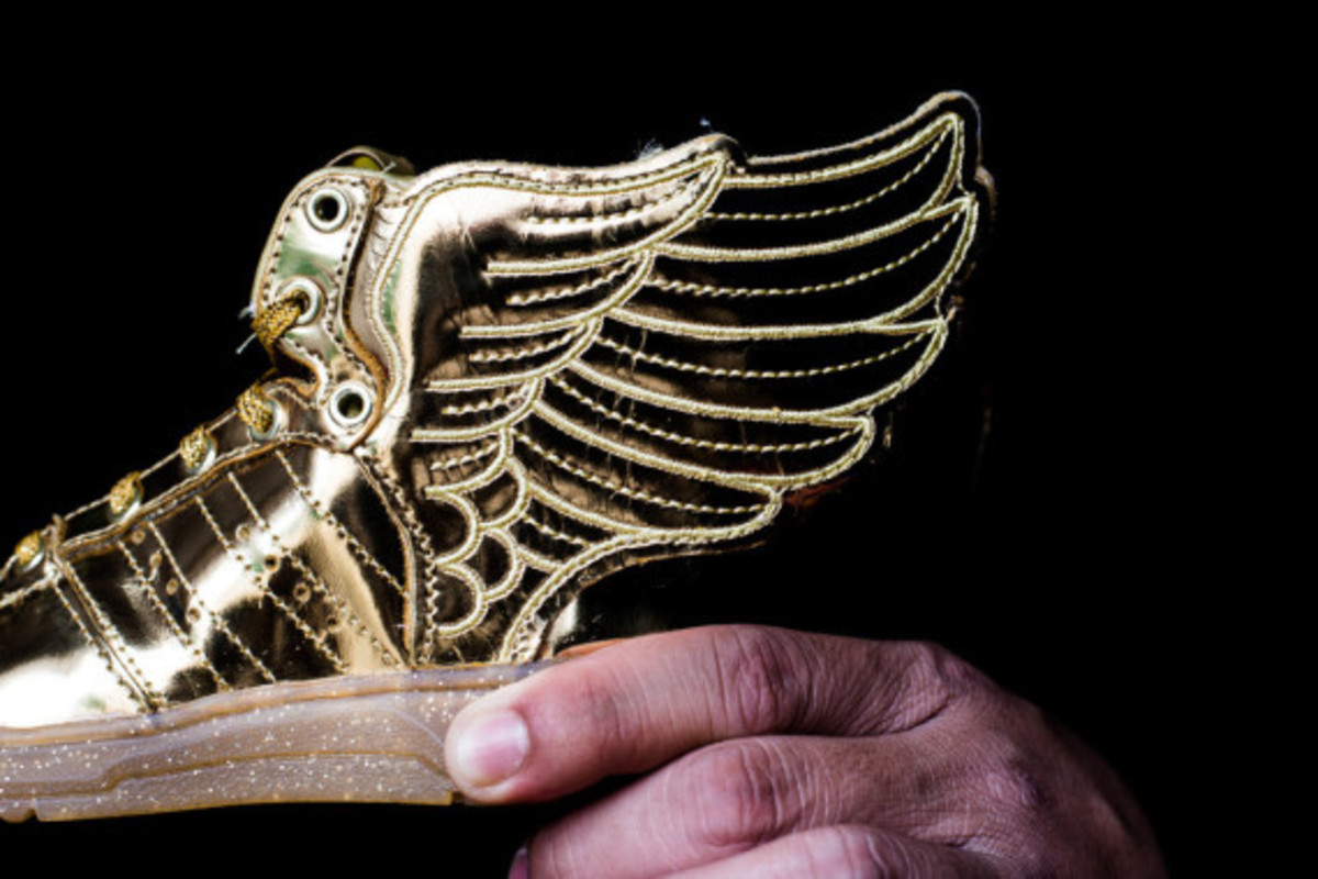 "adidas Originals by Jeremy Scott JS Wings 2.0 Infant - ""Gold Metal"" - 2"