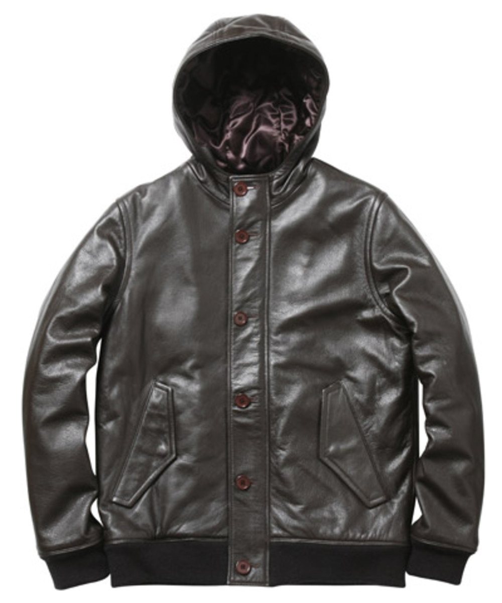 Supreme - Fall/Winter 2009 Collection - Cold Weather Leather Bomber (Brown)