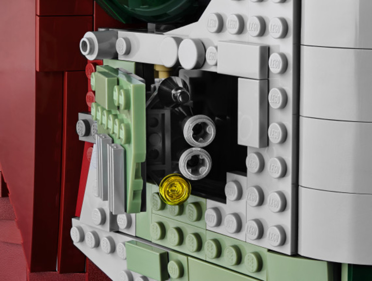 Star Wars x LEGO Ultimate Collector's Series: Boba Fett's Slave I Kit | Release Info - 18