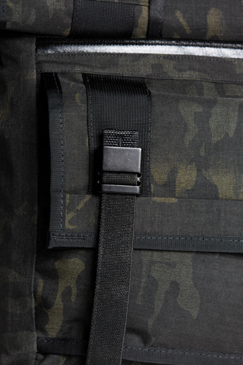 MISSION WORKSHOP - Black Camo Series Limited Edition Messenger Bag - 9
