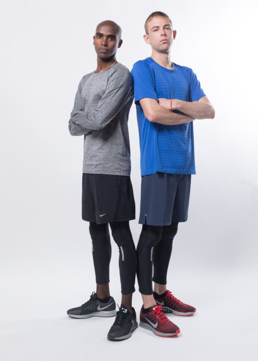 Nike Zoom Air - 2014 Greater China Media Summit with Mo Farah and Galen Rupp - 15