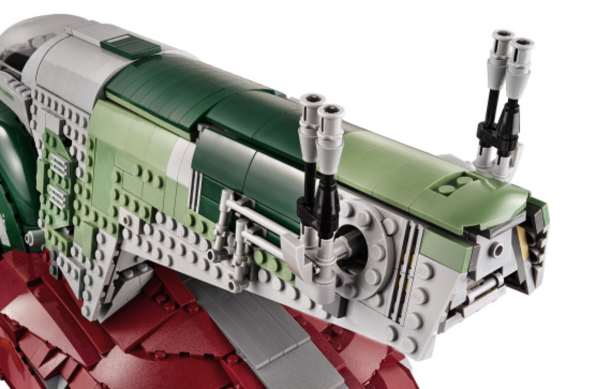 Star Wars x LEGO Ultimate Collector's Series: Boba Fett's Slave I Kit | Release Info - 19
