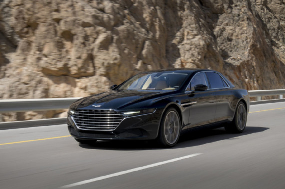 Aston Martin Lagonda Revealed - 0