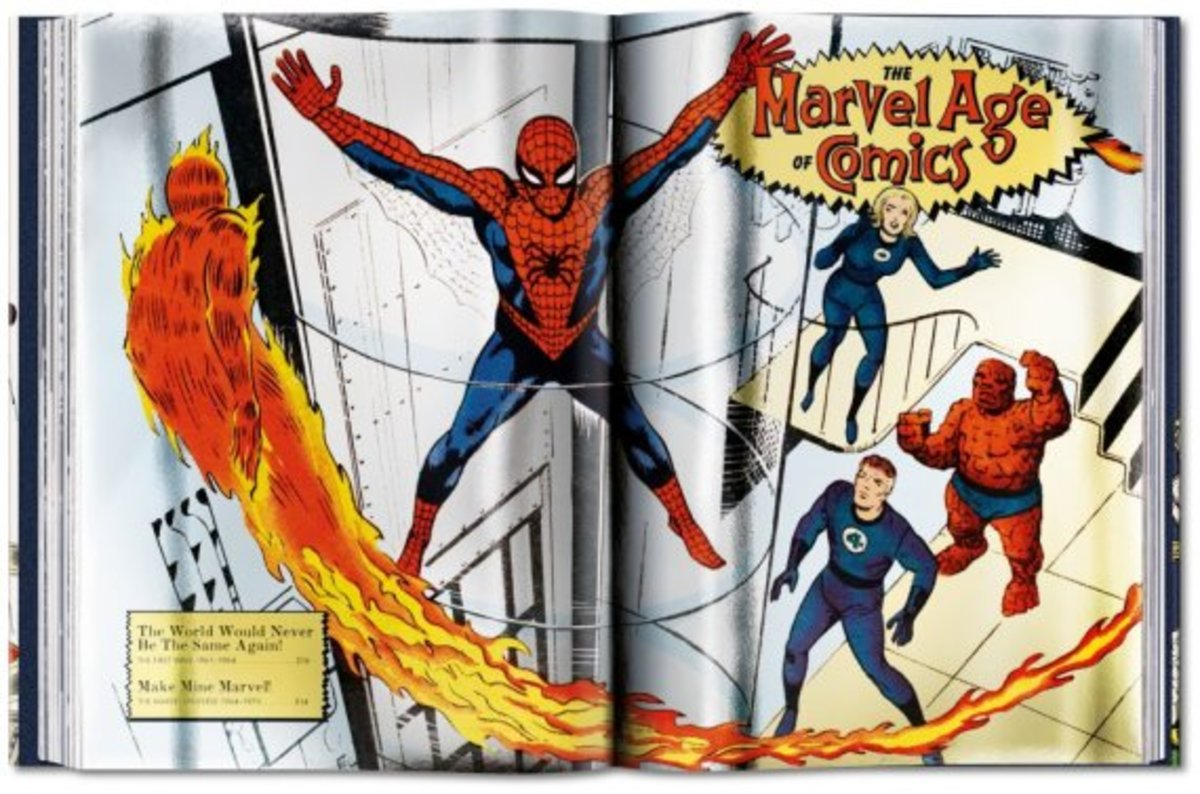 """75 Years of Marvel Comics: From the Golden Age to the Silver Screen"" Book 
