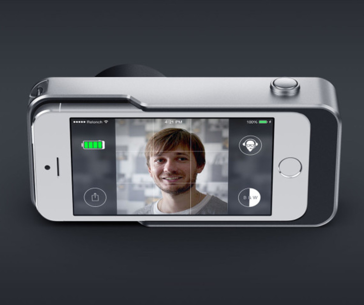 Relonch - Apple iPhone 5/6 Camera Attachment That Creates Print Quality Photos - 7
