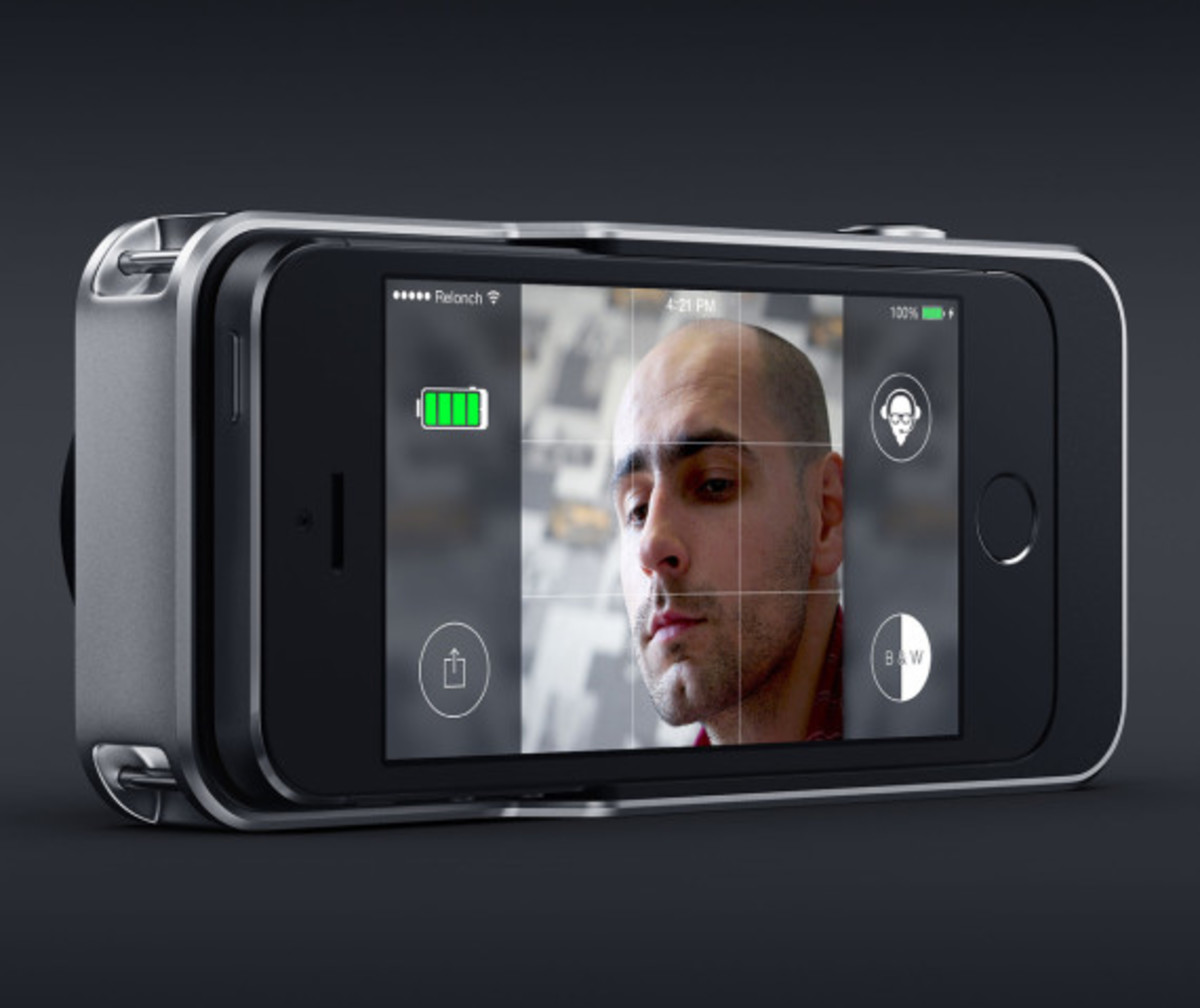 Relonch - Apple iPhone 5/6 Camera Attachment That Creates Print Quality Photos - 2