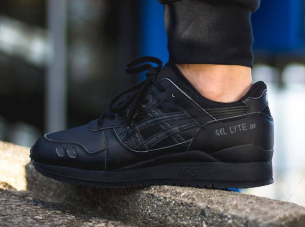 "ASICS Gel Lyte III - ""Triple Black"" - 2"