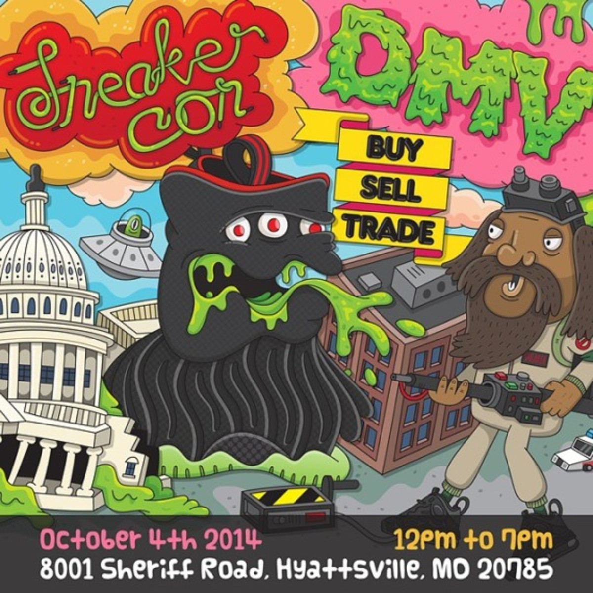 Sneaker Con Washington DC/DMV – Saturday, October 4th, 2014 - 0
