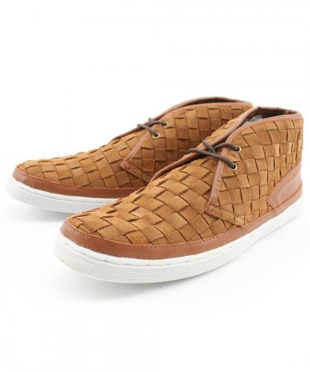 F-Troupe - Fall/Winter 2009 - Woven Suede Chukkah - 0