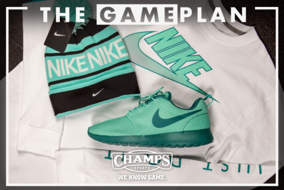 The Game Plan by Champs Sports - Nike Hyper Jade Collection - 2
