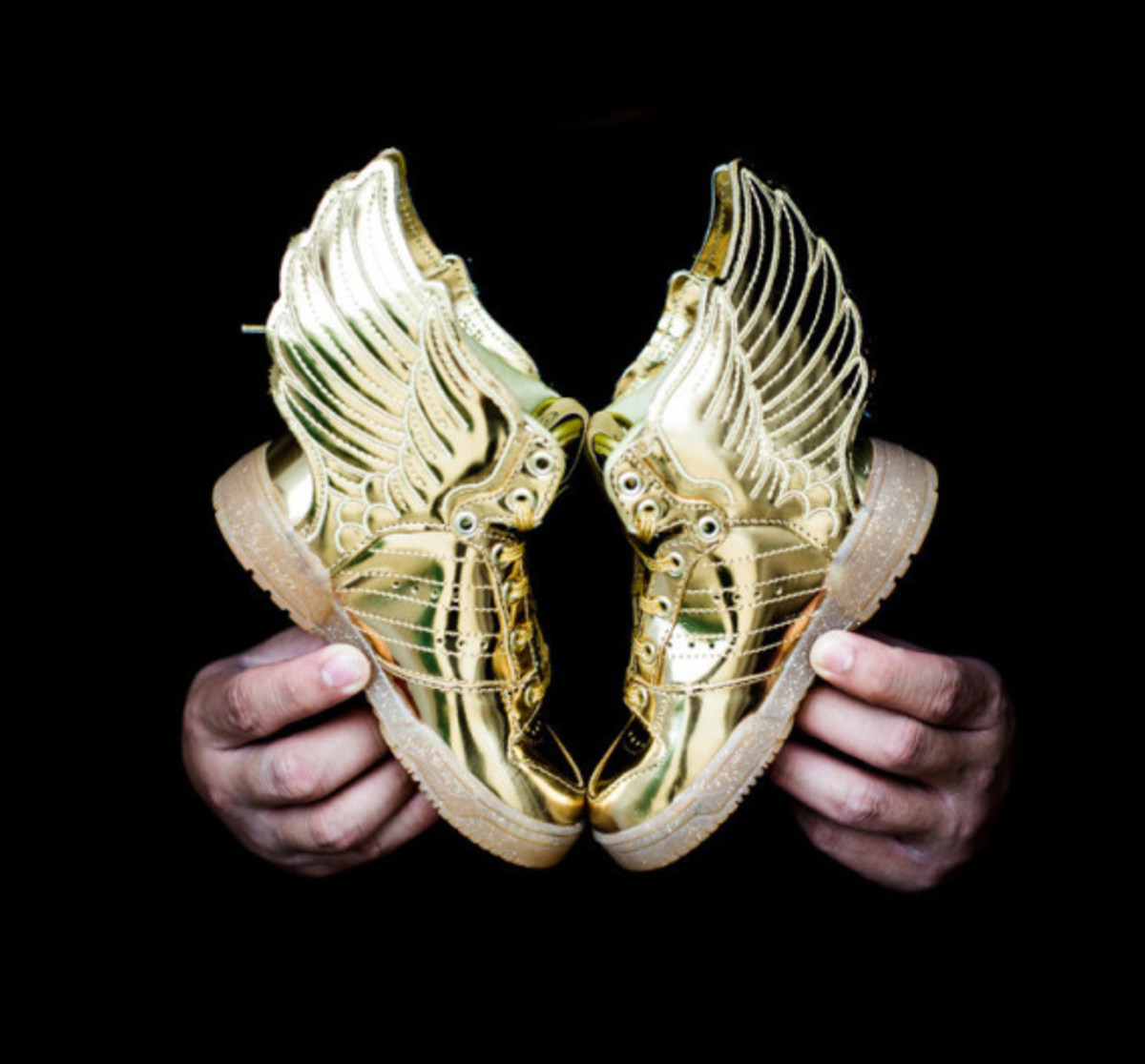 "adidas Originals by Jeremy Scott JS Wings 2.0 Infant - ""Gold Metal"" - 3"