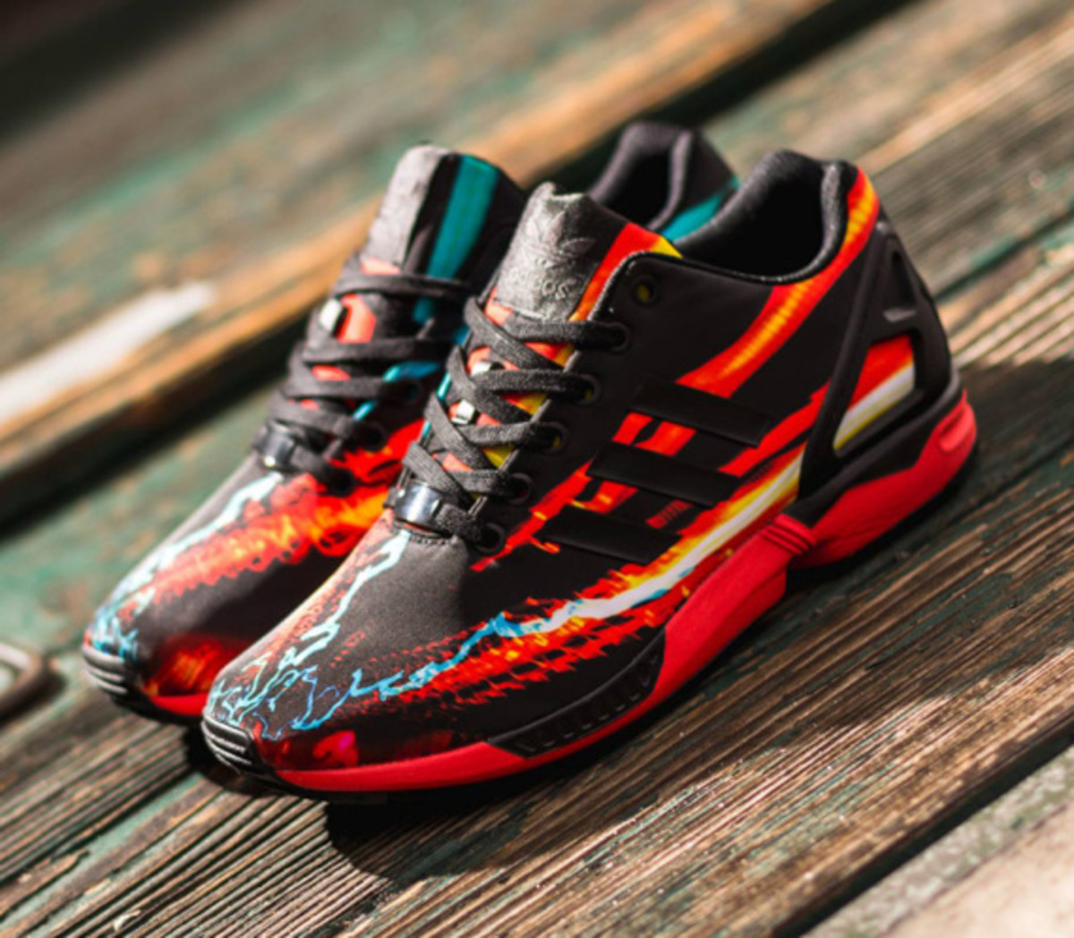 adidas ZX Flux - Red/Core Black/Carbon - 0