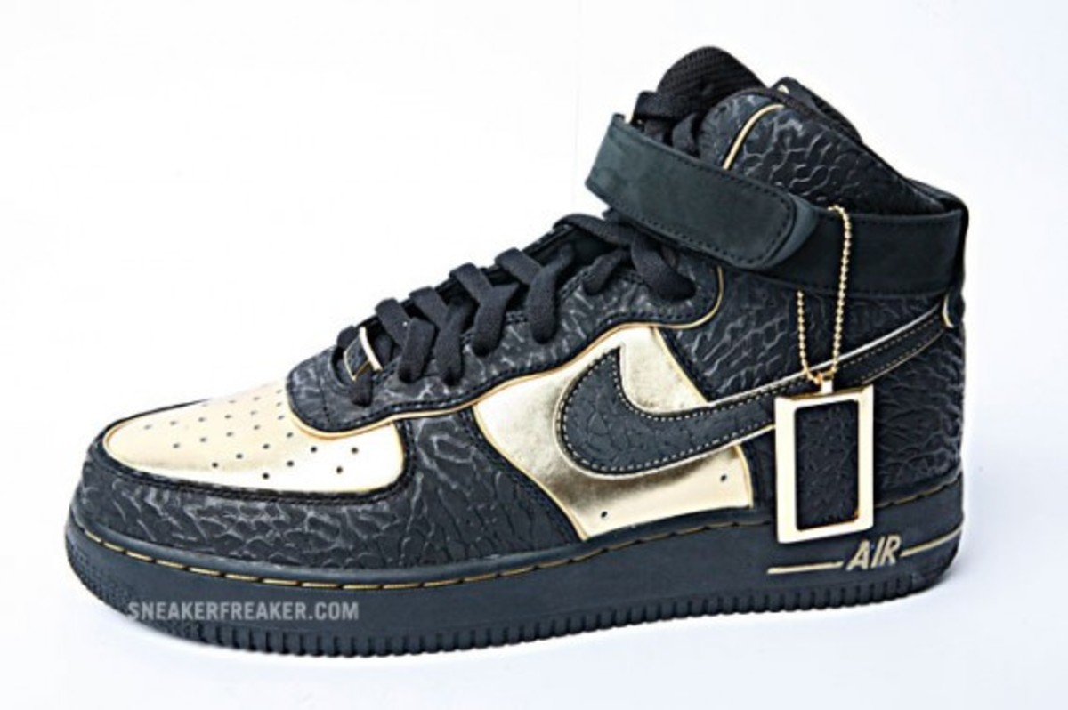Nike x NITRO MICROPHONE UNDERGROUND - Air Force 1 High ...