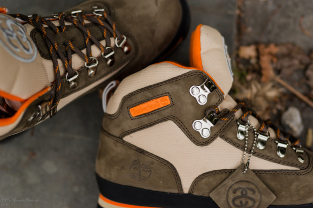 Stussy for Timberland – Euro Hiker Boots | Available Now - 7