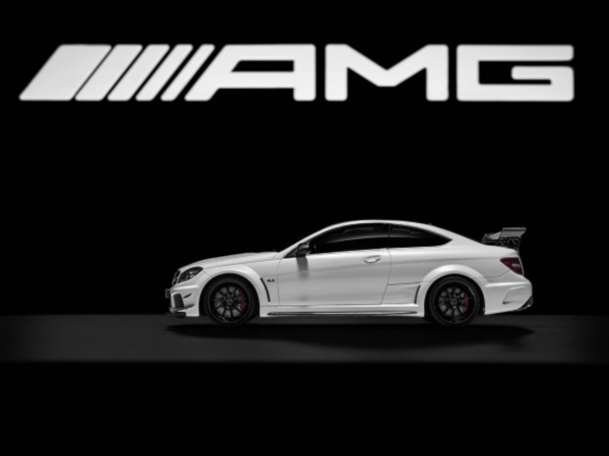 "Mercedes AMG - Limited Edition ""White Series"" Scale Model Cars - 12"