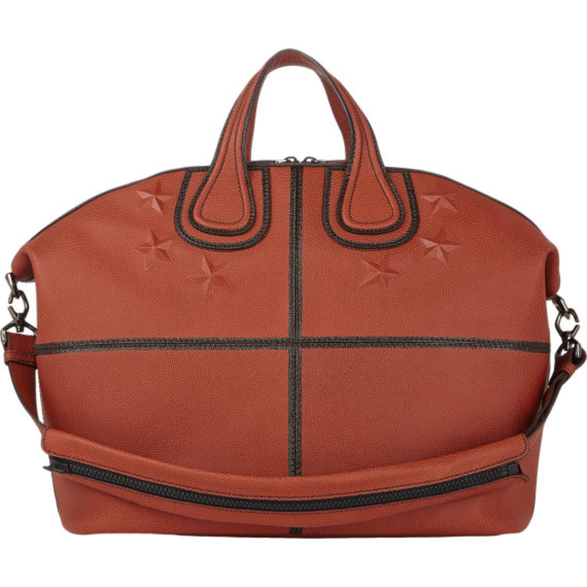 GIVENCHY - Star-Studded Nightingale Tote in Basketball Leather - 1