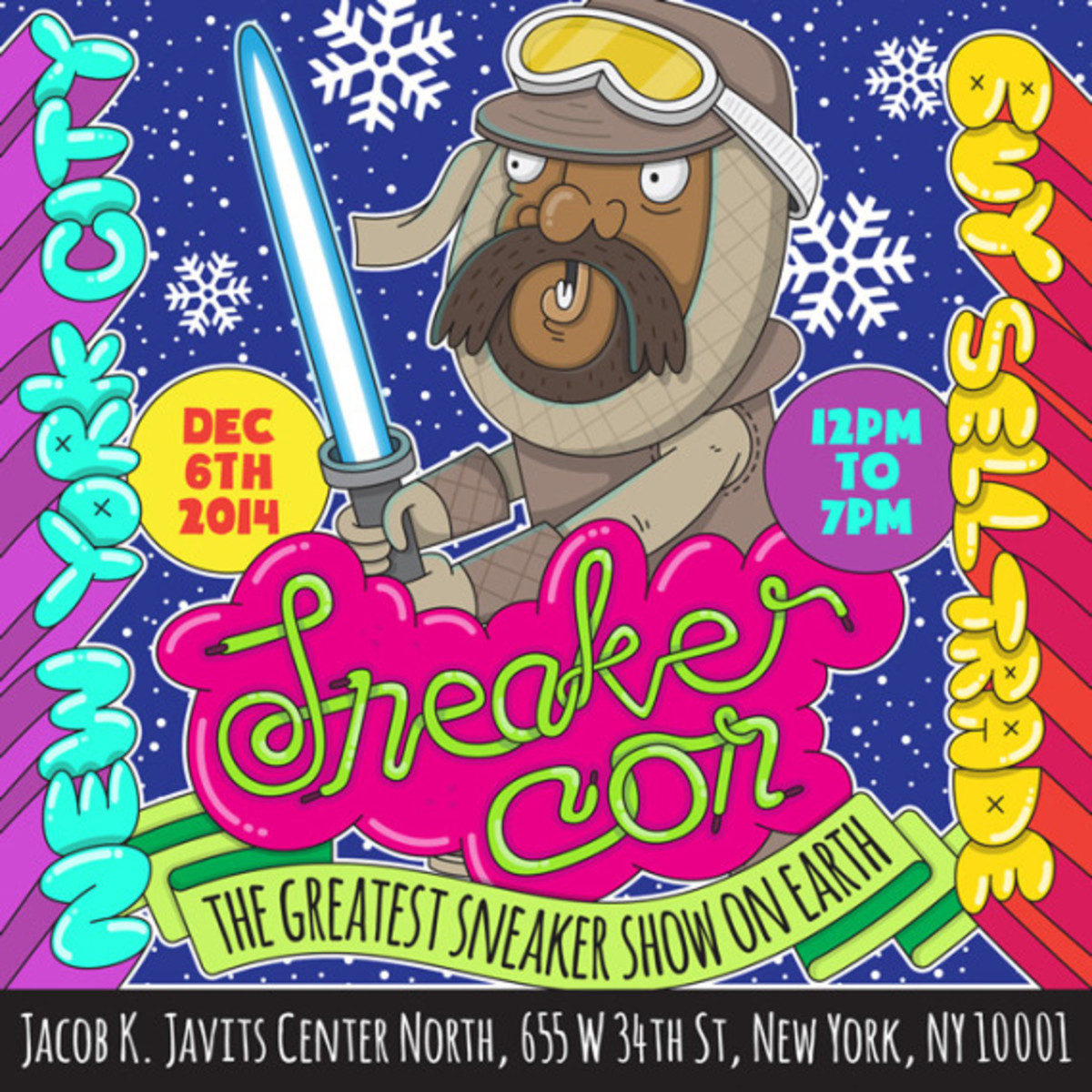 Sneaker Con New York City – December 6th, 2014 | Event Reminder - 4