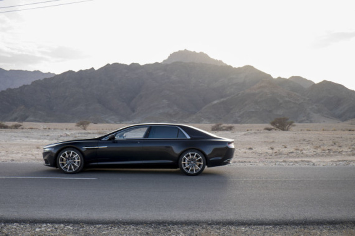 Aston Martin Lagonda Revealed - 4