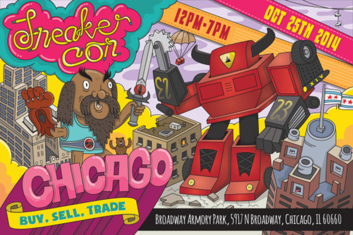 Sneaker Con Chicago – October 25th, 2014 | Event Reminder - 1