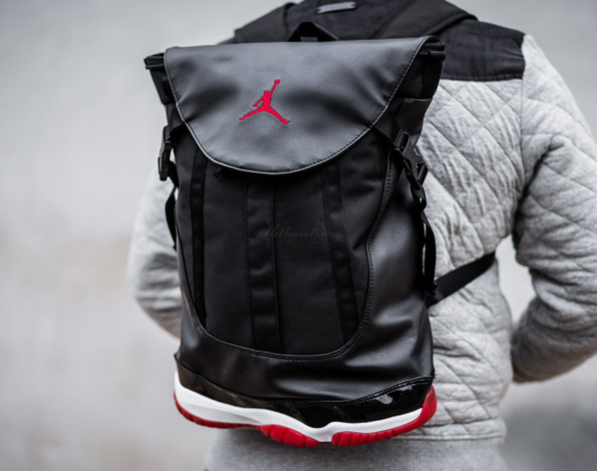 "85855e0ff55 Air Jordan 11 Retro ""BRED"" Backpack - Freshness Mag"