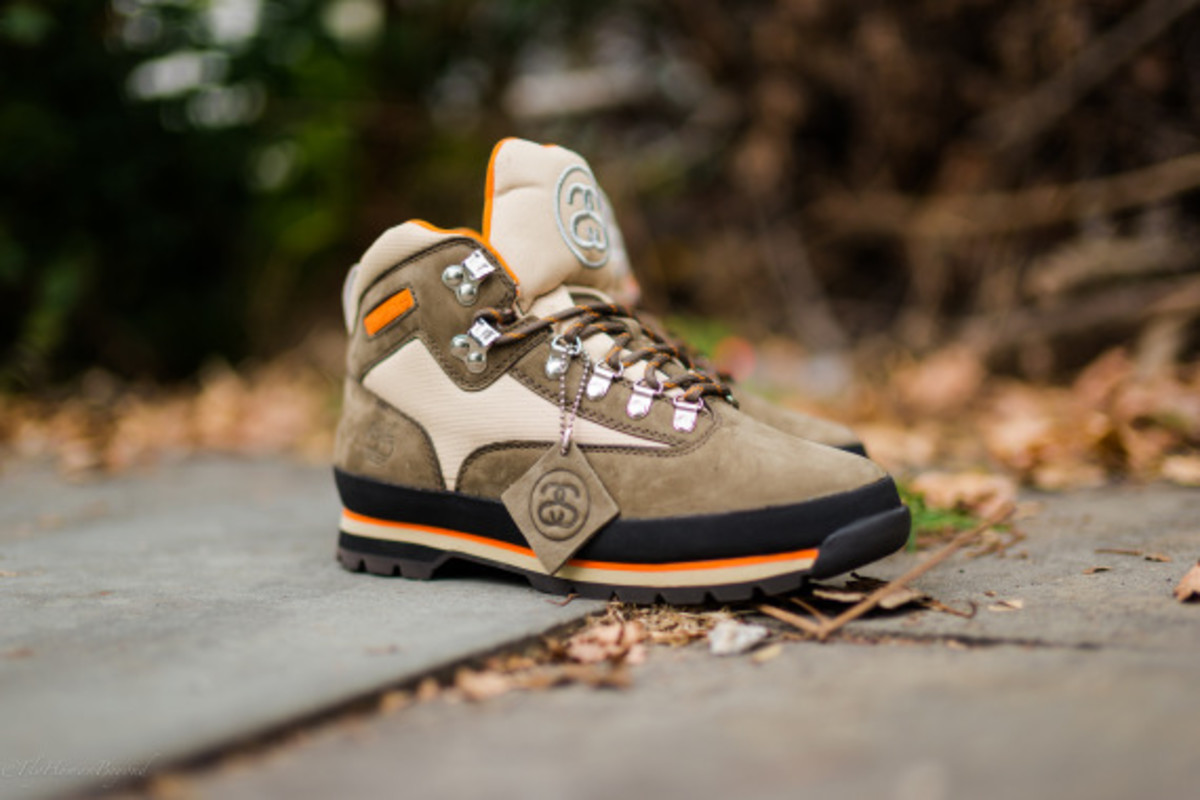 Stussy for Timberland – Euro Hiker Boots | Available Now - 6