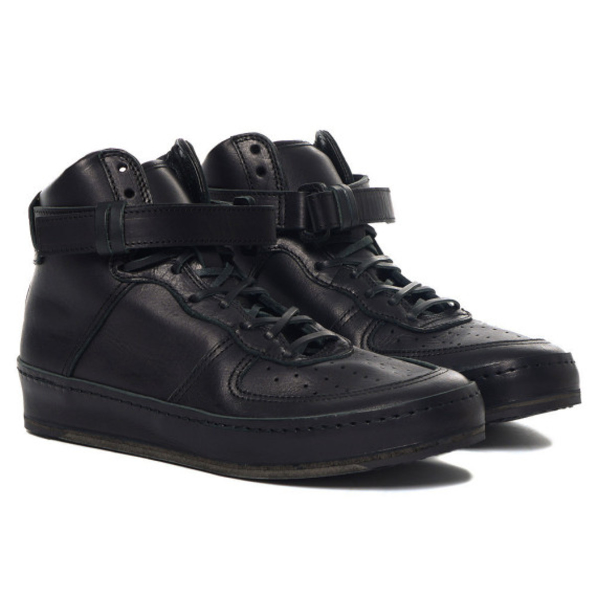 Hender Scheme - Manual Industrial Products 01 Black: Inspired by Nike Air Force 1 High - 0