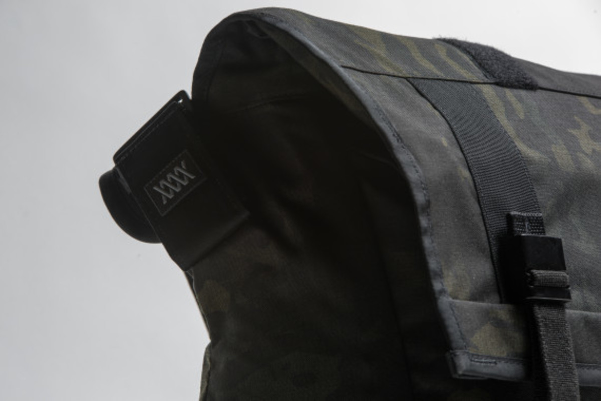 MISSION WORKSHOP - Black Camo Series Limited Edition Messenger Bag - 3