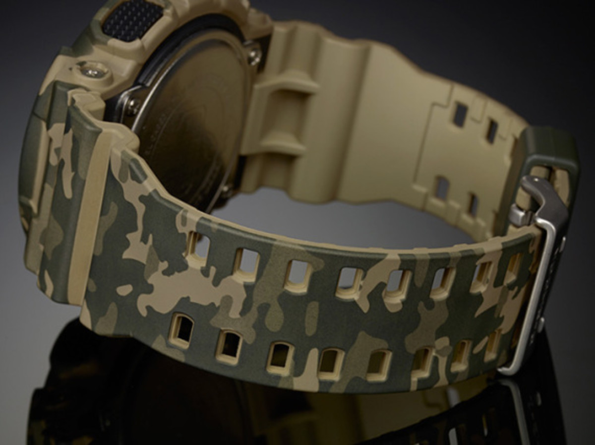 "Casio G-Shock GA-100CM Watch - ""Camouflage Plated Dial"" Series - 10"