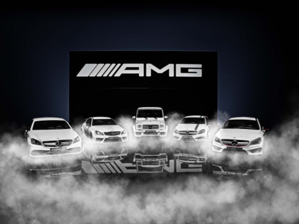 "Mercedes AMG - Limited Edition ""White Series"" Scale Model Cars - 17"