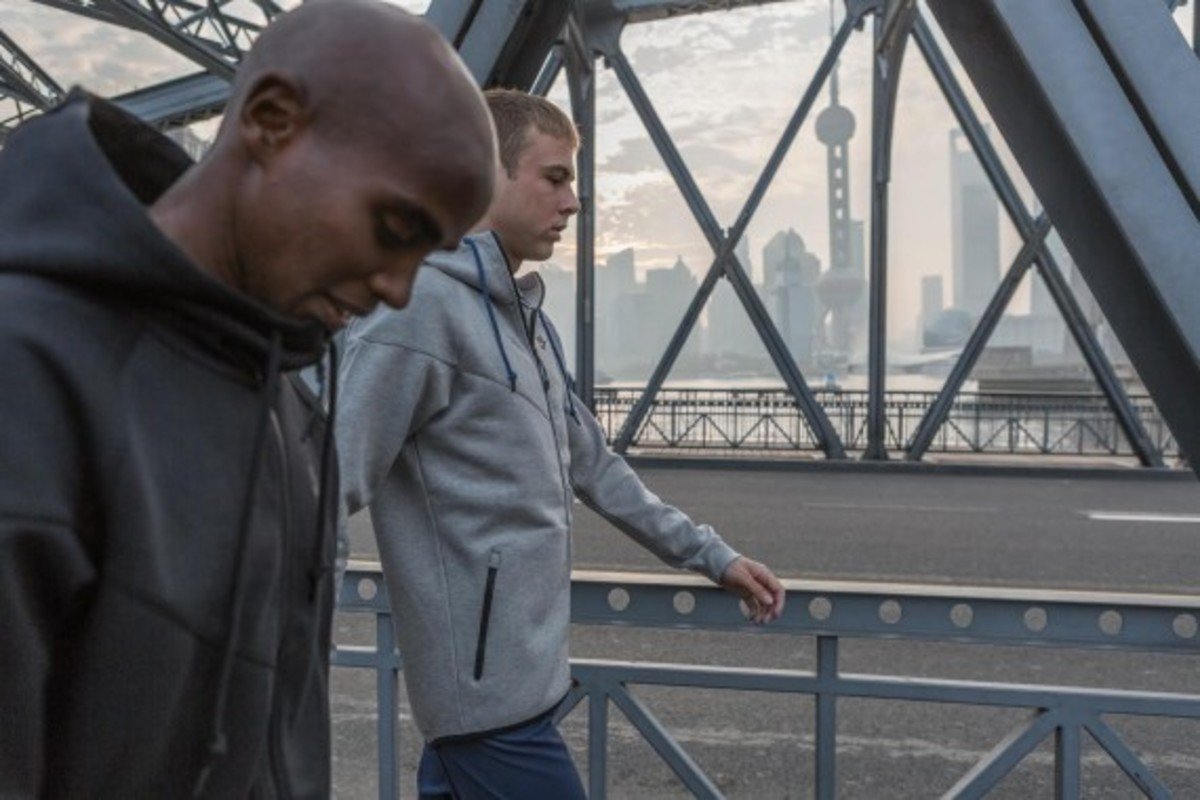 Nike Zoom Air - 2014 Greater China Media Summit with Mo Farah and Galen Rupp - 4