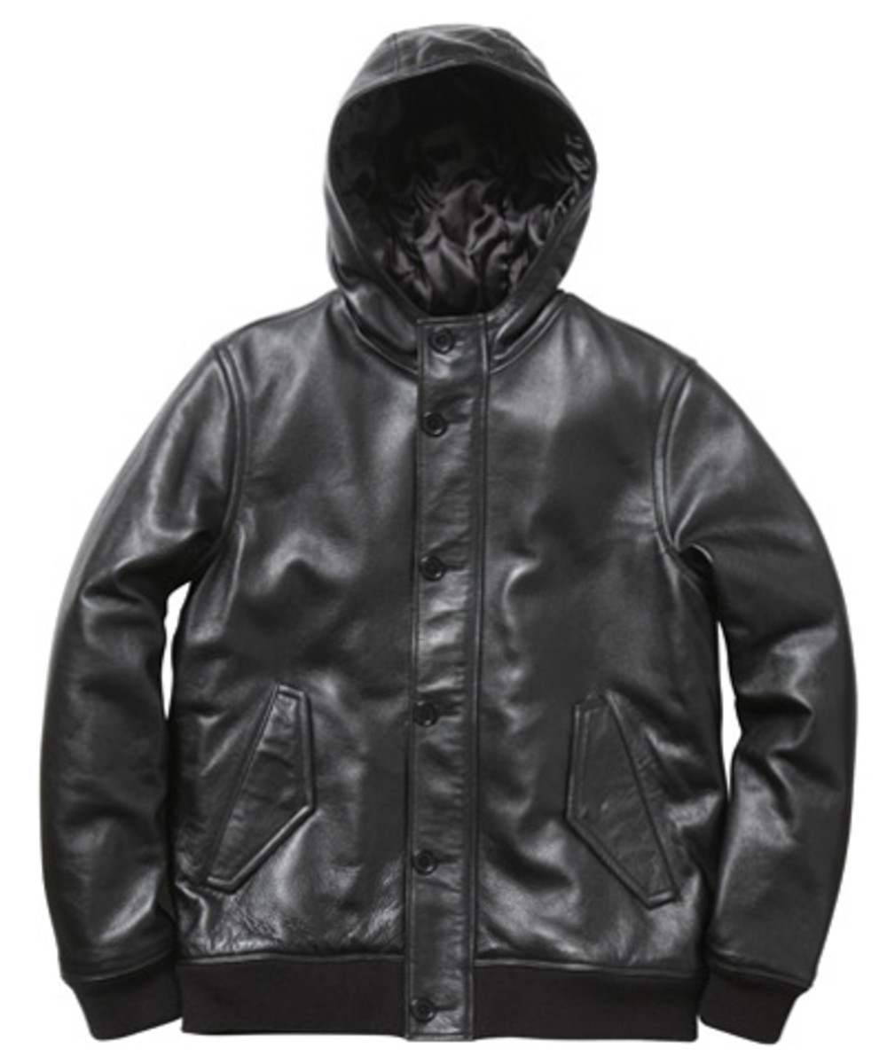 Supreme - Fall/Winter 2009 Collection - Cold Weather Leather Bomber (Black)