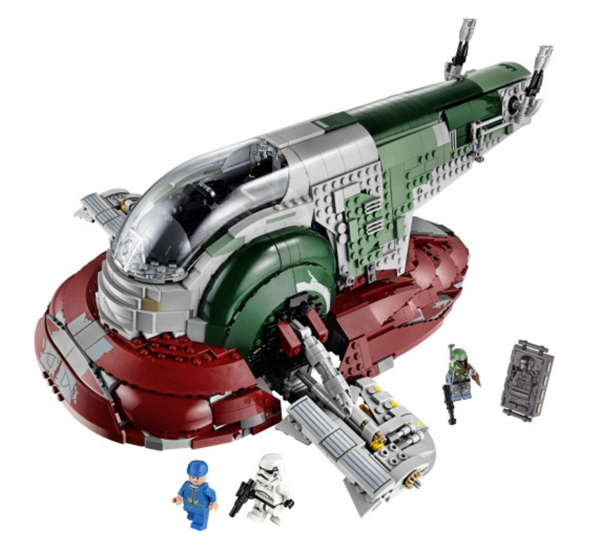 Star Wars x LEGO Ultimate Collector's Series: Boba Fett's Slave I Kit | Release Info - 32