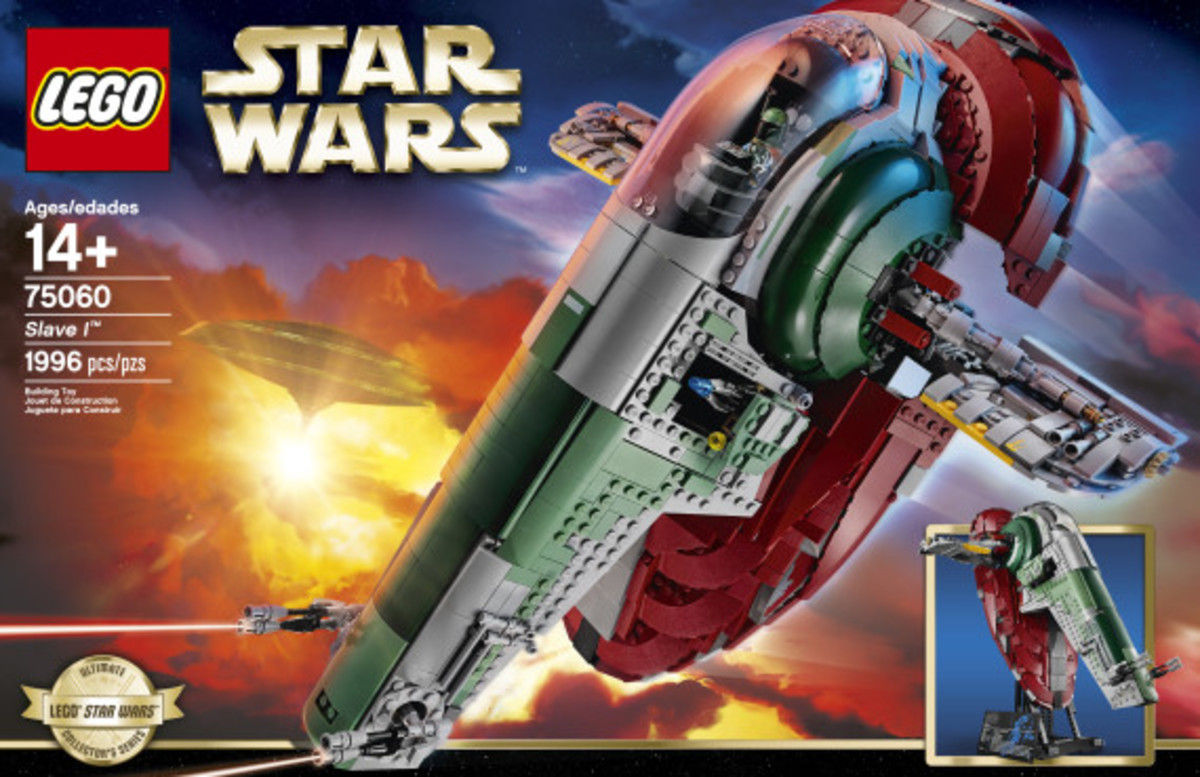 Star Wars x LEGO Ultimate Collector's Series: Boba Fett's Slave I Kit | Release Info - 33