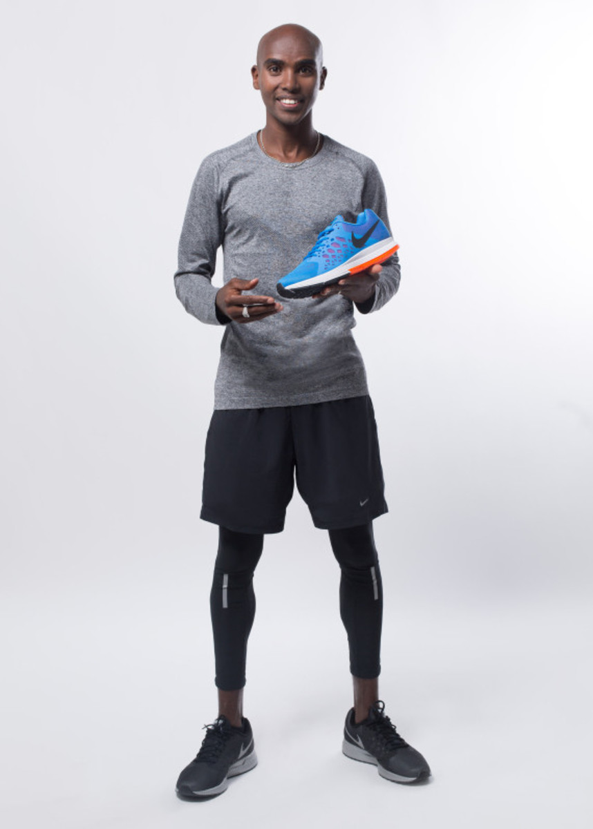 Nike Zoom Air - 2014 Greater China Media Summit with Mo Farah and Galen Rupp - 14