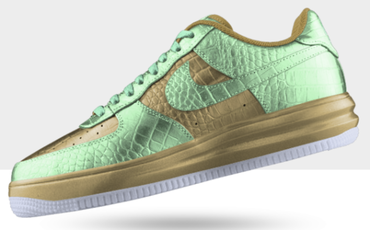 NIKEiD Air Force 1 Metallic Croc Option | Available Now - 1