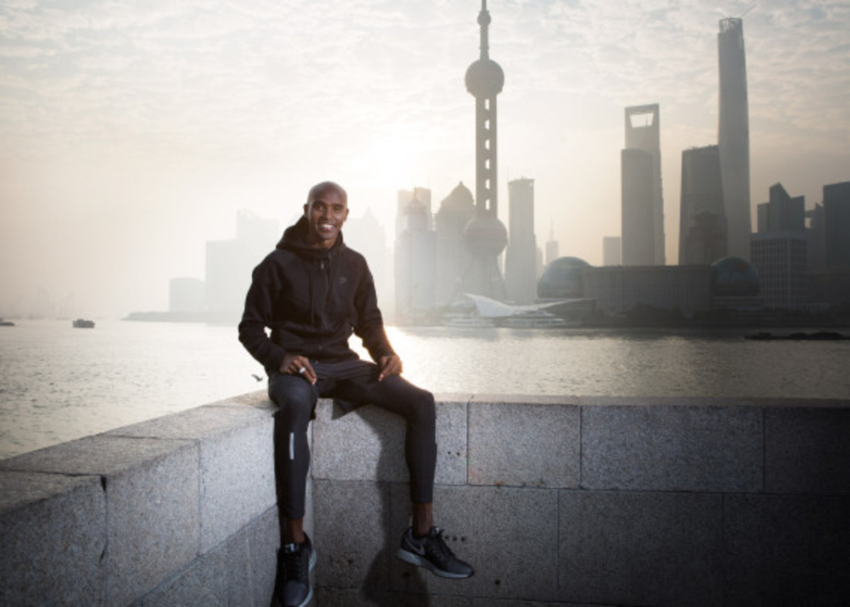 Nike Zoom Air - 2014 Greater China Media Summit with Mo Farah and Galen Rupp - 2
